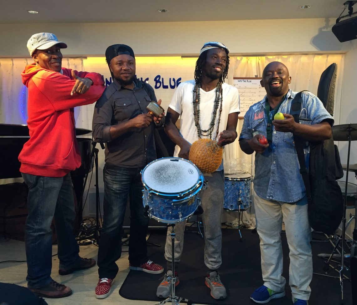 AFRICAN CONNECTION BAND@ Into the blue ,Machida