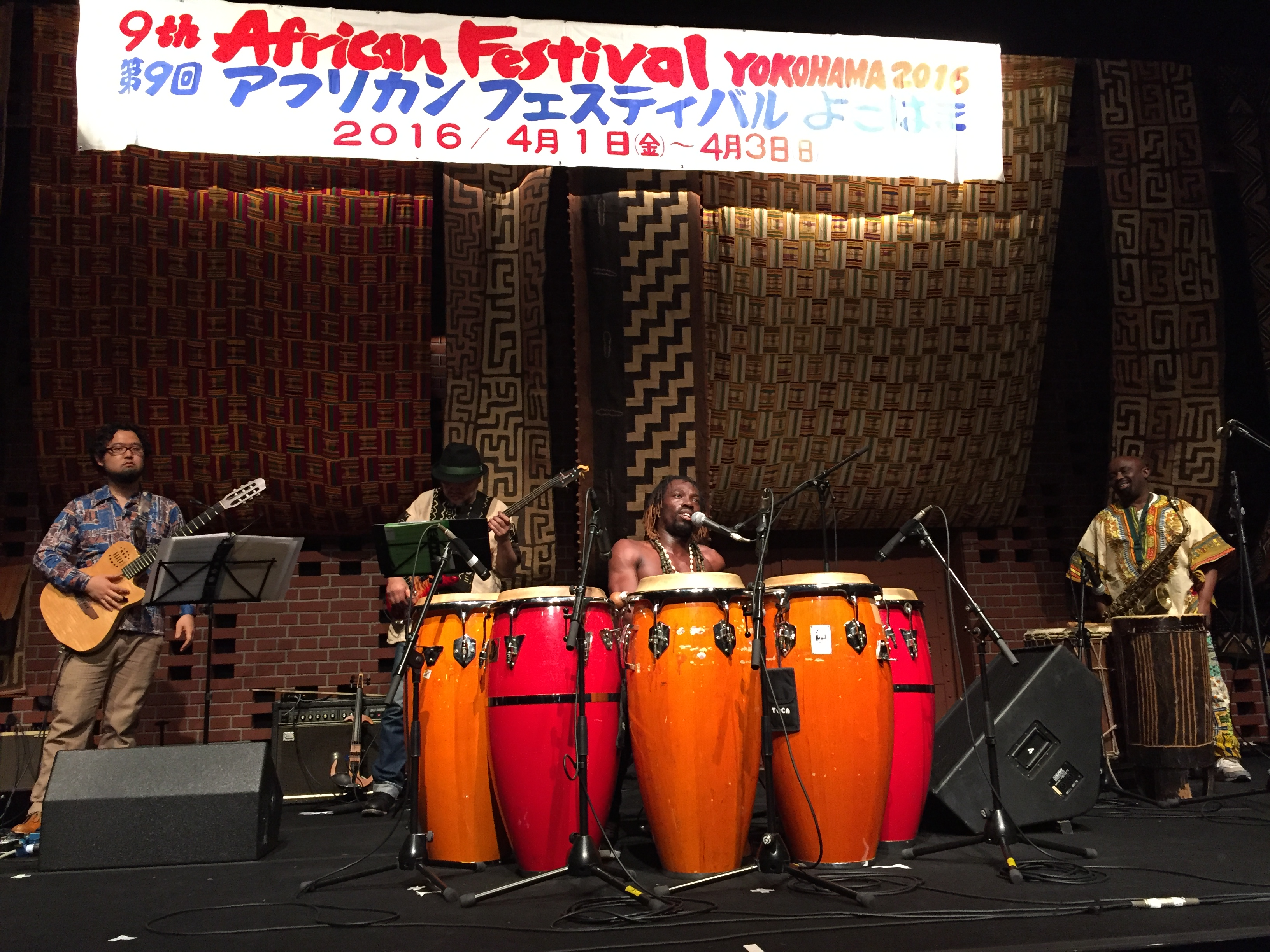 Take 6★オズワルド・コアメin アフリカンフェスティバルよこはま2016 – #1