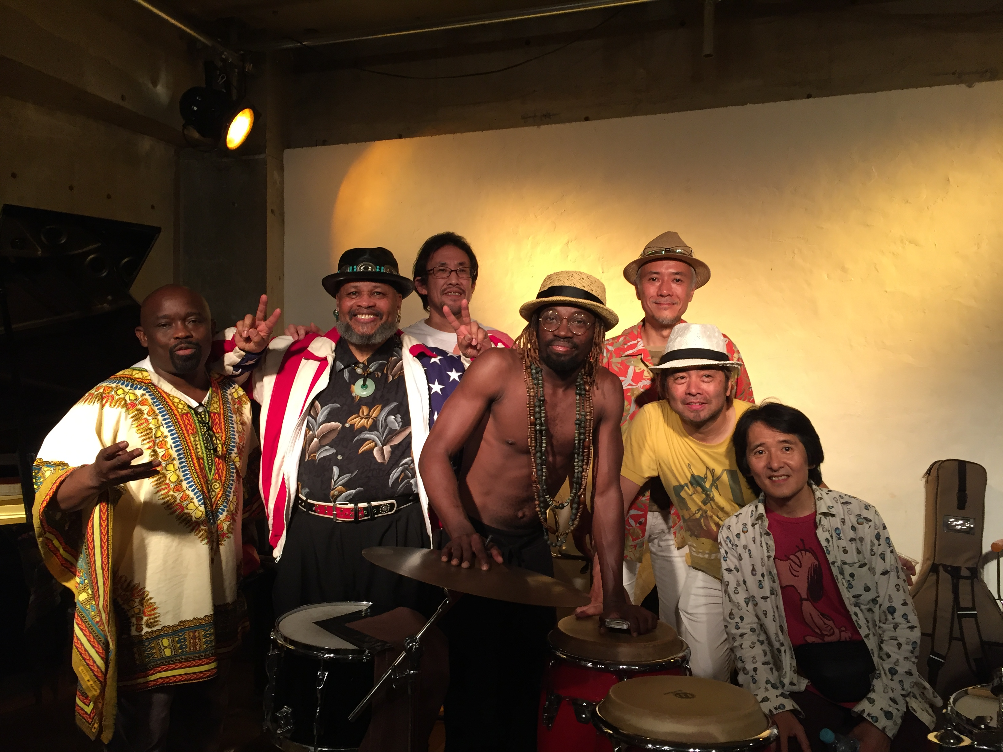 World Music Tour 2016 vol.3 ★Super Fusion Night! ★Shimokitazawa