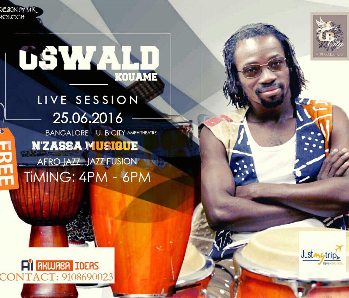 Oswald Kouame – Live Session –  Bangalore , India
