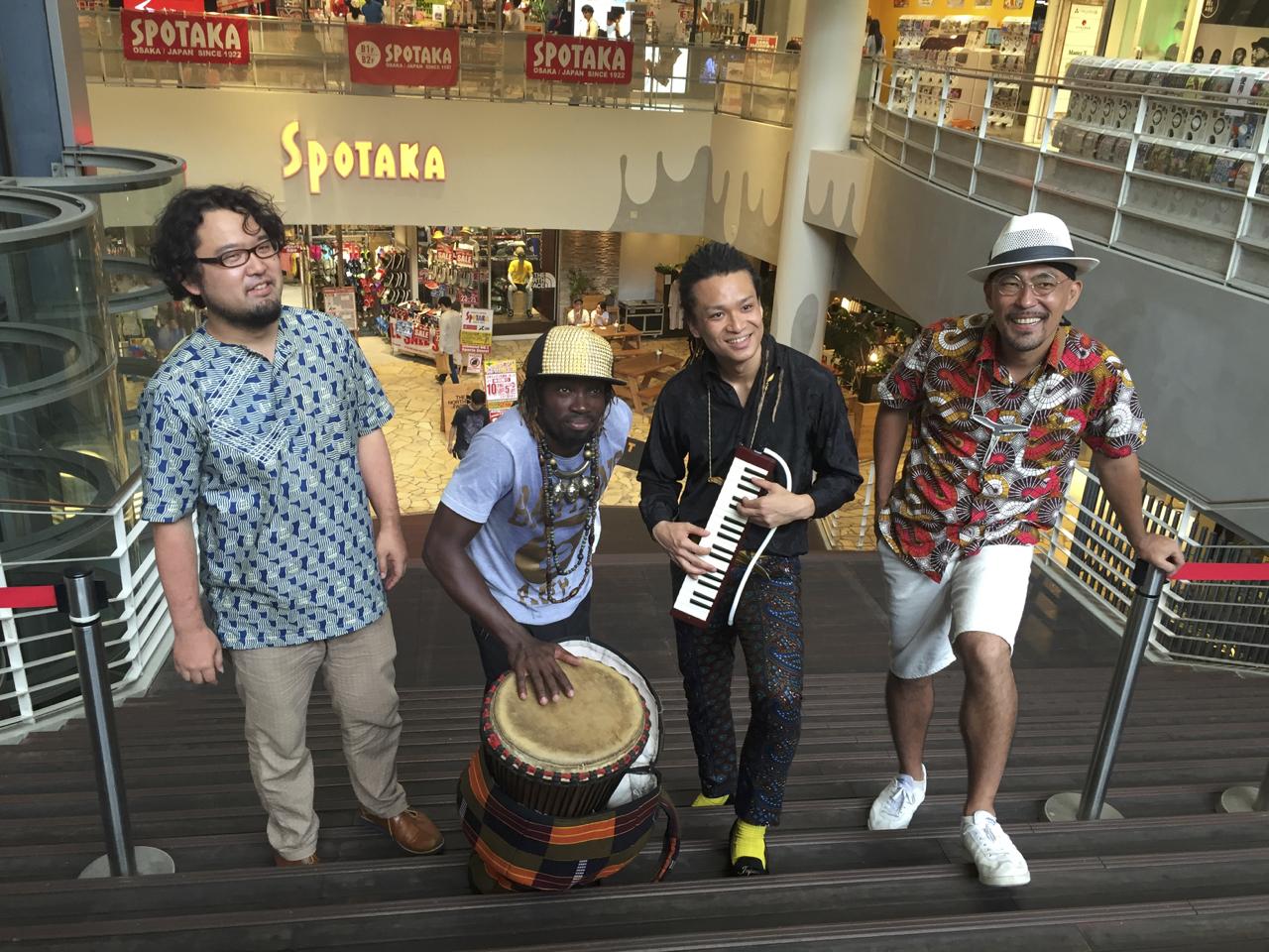 Oswald Kouame ⭐︎ AFRICAN GROOVE in Bigstep Osaka