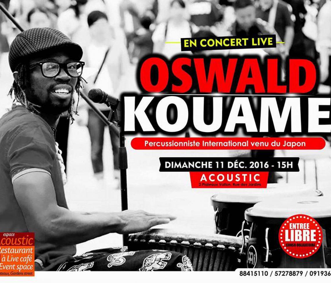 11 Dec (Sun) 16:00-19:00 @Accoustic Abidjan